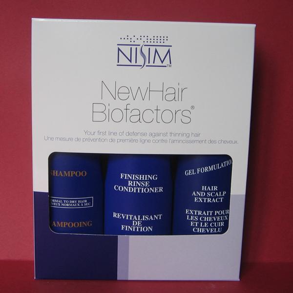 NISIM 3 in 1 hajhullás elleni csomag normál-száraz hajra