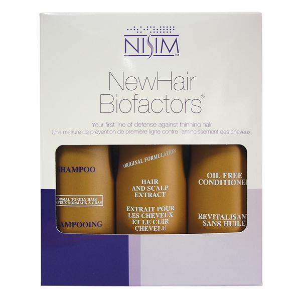NISIM Big 3 in 1 hajhullás elleni csomag normál-zsíros hajra